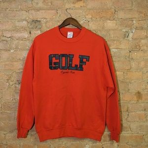 Mens Vintage GOLF Sweatshirt
